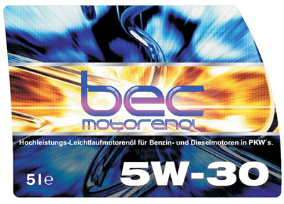BEC Automotive Label